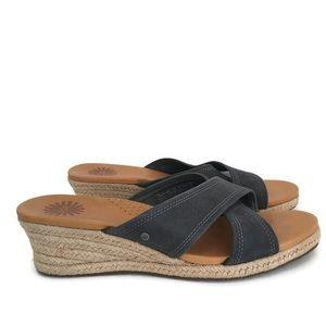 Ugg Gwyn Espadrille Wedge Sandal